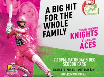 Northern Knights host Auckland Aces
