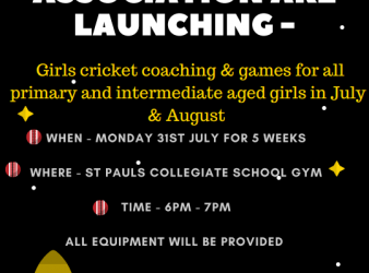 Girls Cricket Coaching and Games!